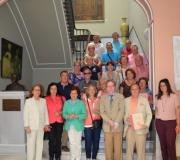 Visita cultural de un grupo de vecinos al Ateneo de Sevilla