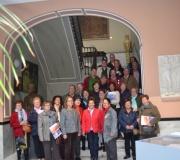 Visita al Ateneo de la Asociación 'Gambrinus', del Distrito San Pablo-Santa Justa