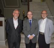 """Celebrada la conferencia """"Jardines y parques en la Historia del Arte"""" pronunciada por Adolfo Fernández Palomares"""