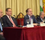 Jesús Peñas del Castillo y Ángel Moliní, nombrados Socios de Honor del Excmo. Ateneo