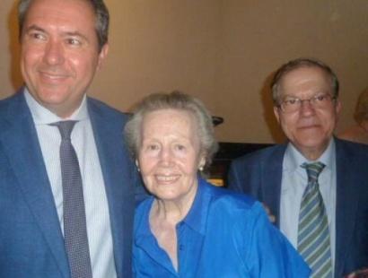 El Presidente del Ateneo, Alberto Máximo Pérez Calero, asistió al homenaje a Blas Infante, celebrado en el Real Alcázar