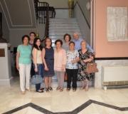 El taller 'Conocer Sevilla', del Distrito Sur, ha realizado una visita cultural al Ateneo