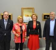 Inaugurada la exposición de pintura 'Dos Conceptos', de Mª Carmen Santana y Marisa Muñoz