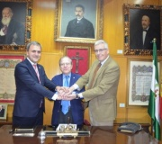 Firma de convenio de colaboración entre el Club Baloncesto Sevilla y el Ateneo