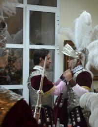 El Ateneo recibió en la noche del Jueves Santo la visita de la Centuria Macarena